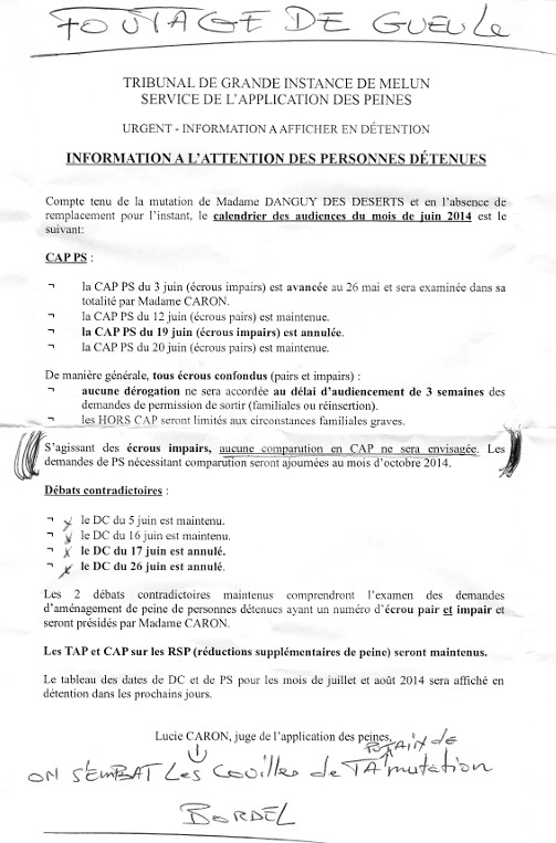 modele lettre juge application des peines Modele De Lettre Pour Un Juge D Application Des Peines | sprookjesgrot modele lettre juge application des peines